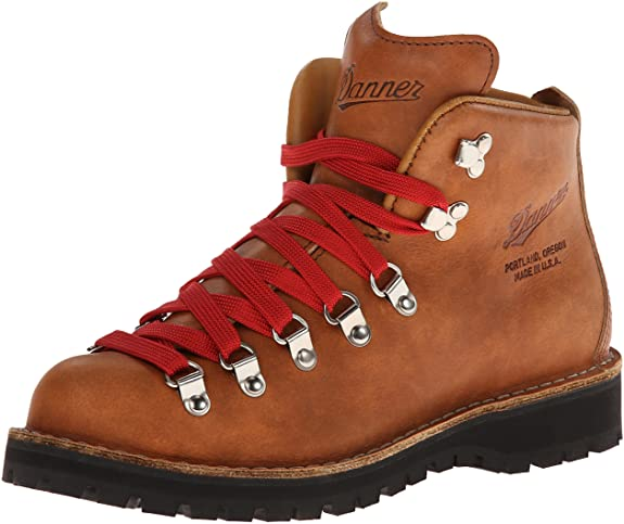 Hiking Boots With Red Laces